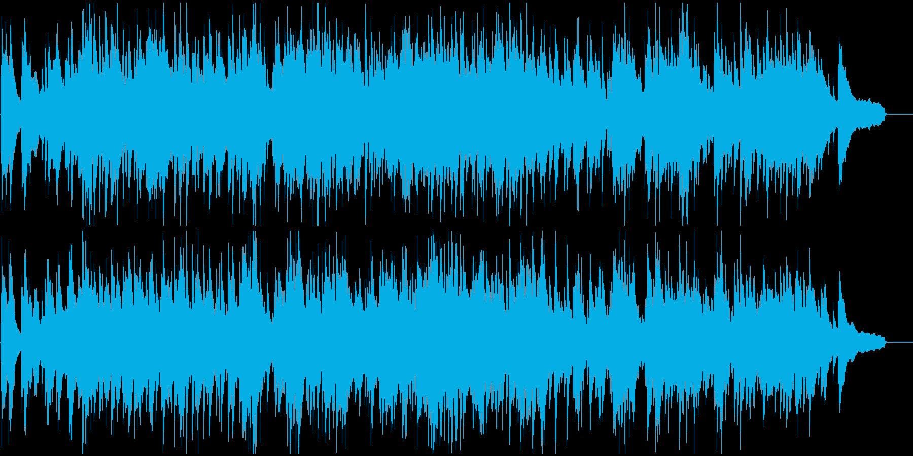 優しく包み込むような重厚なピアノバラードの再生済みの波形