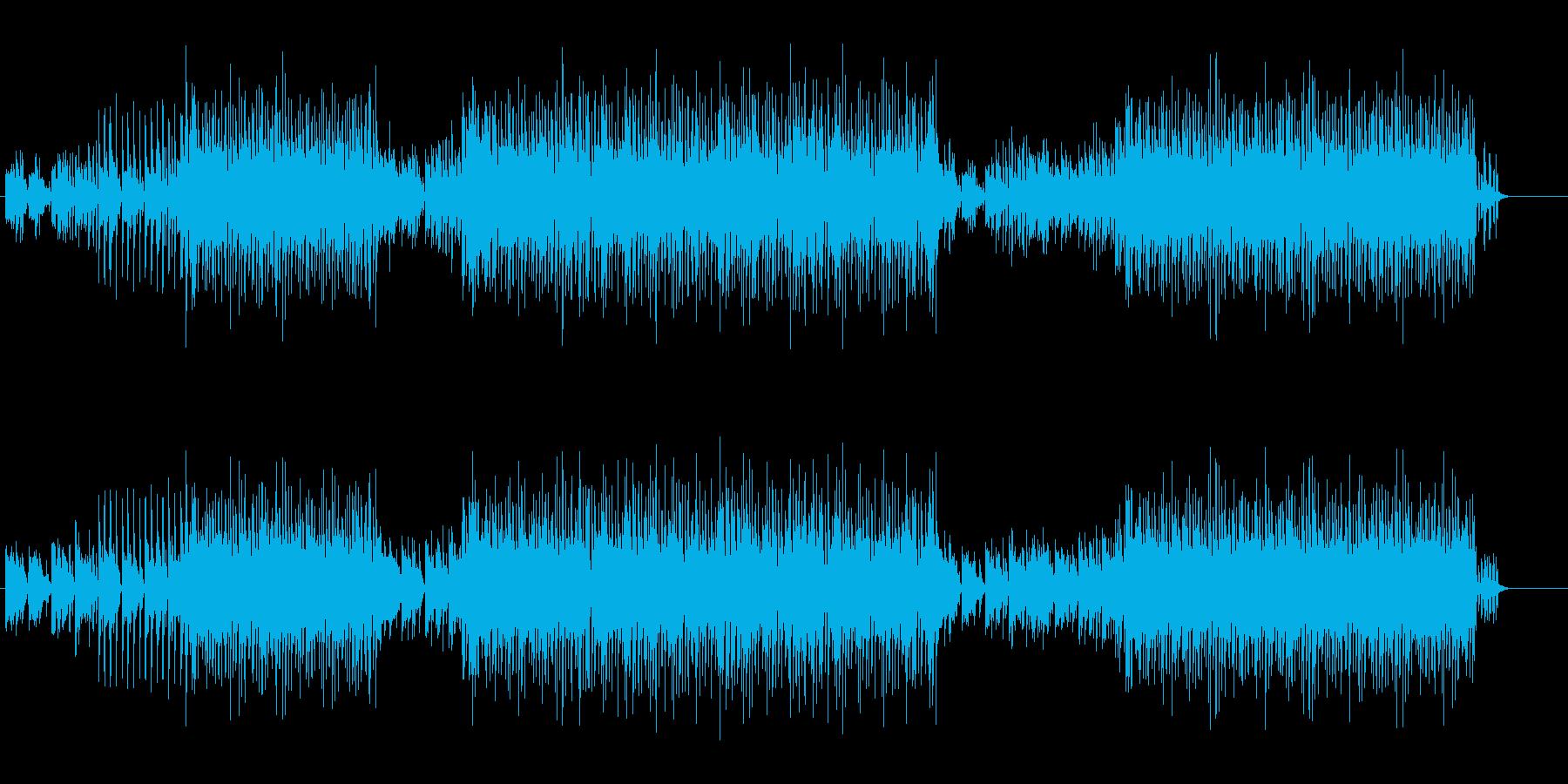 スウィンギーなACID JAZZの再生済みの波形