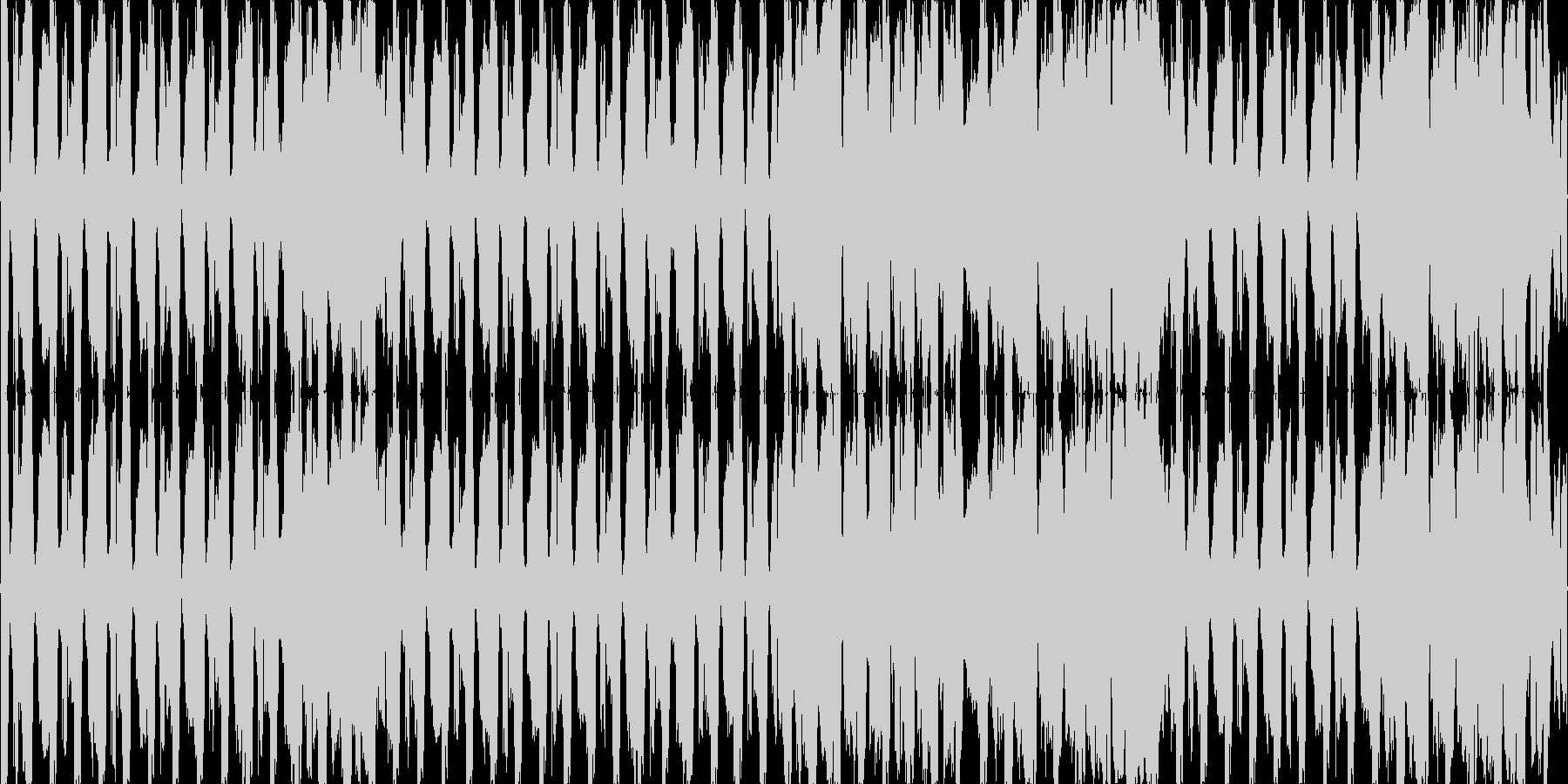 テクノ ネタ系 少しだけEDMの未再生の波形