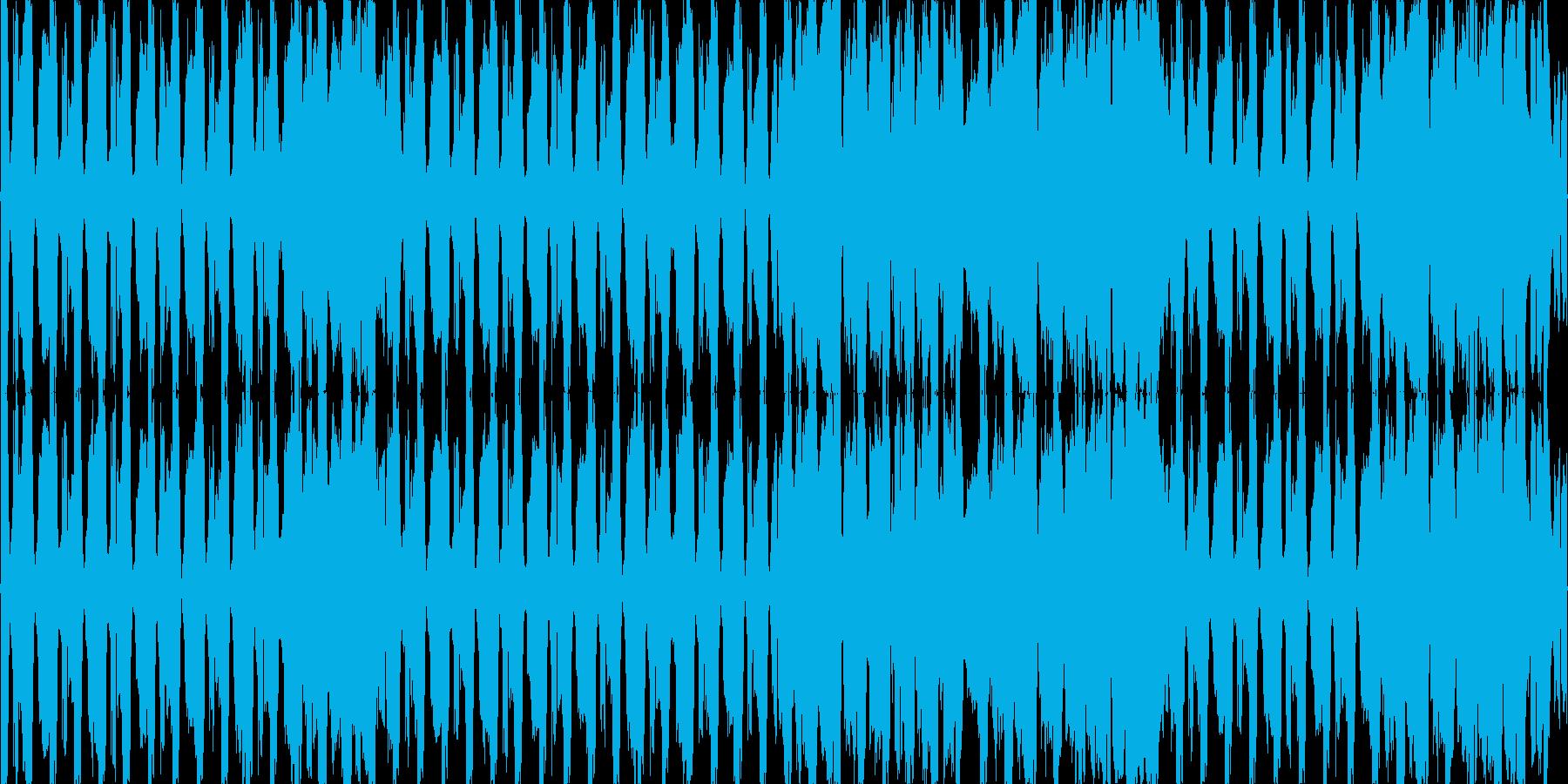 テクノ ネタ系 少しだけEDMの再生済みの波形