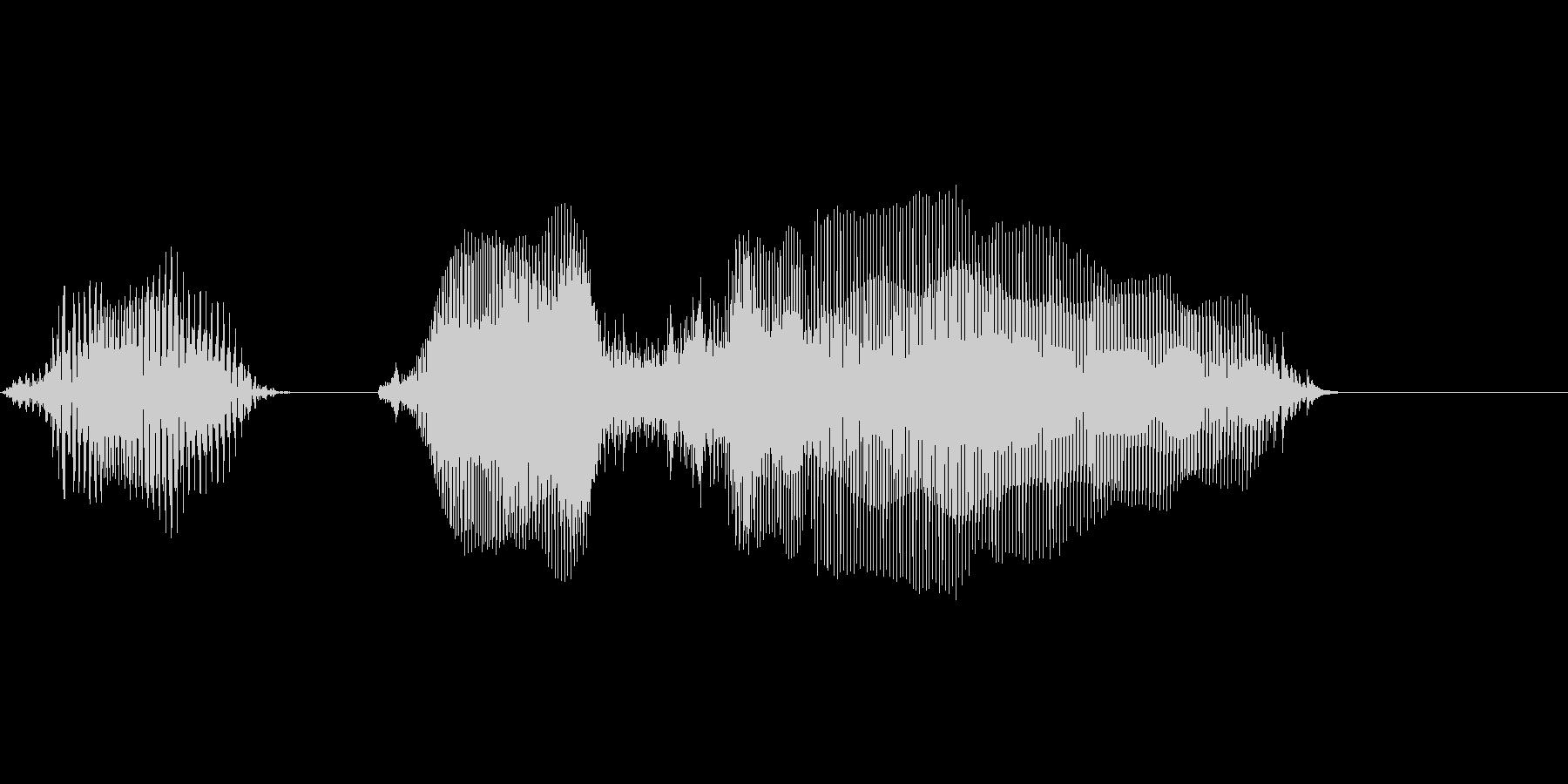 60(ろ↓くじゅう↑)の未再生の波形