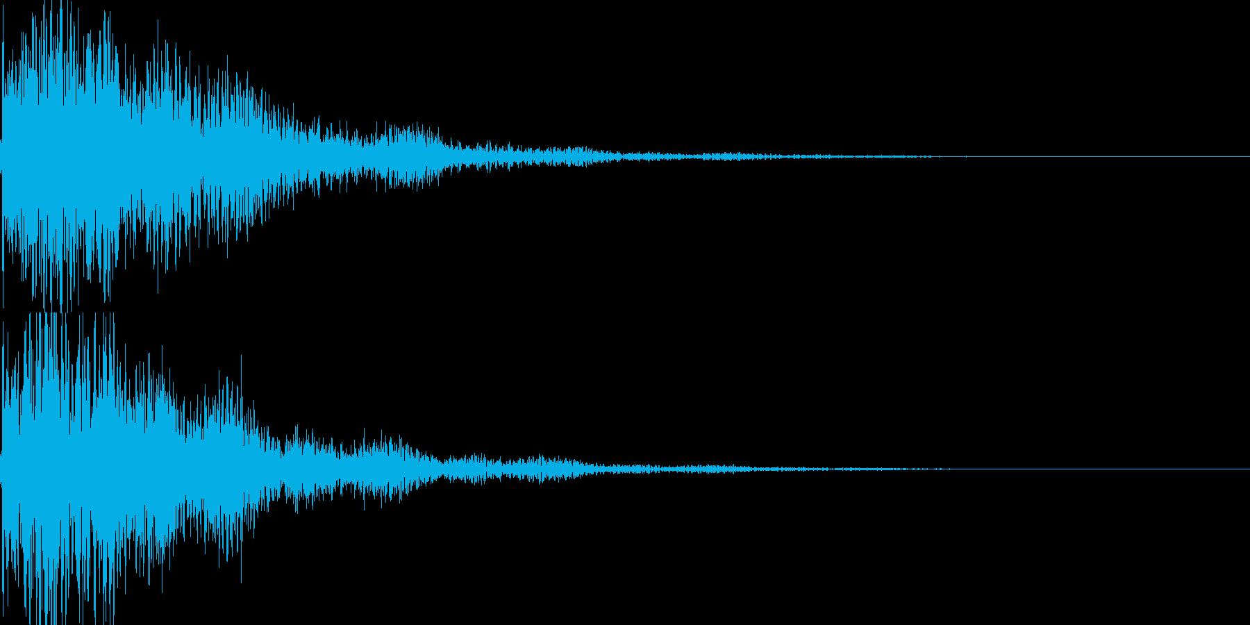 琴と太鼓の和風インパクトジングル! 02の再生済みの波形