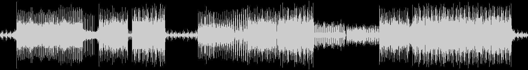 エレクトロなメロディが印象的なループ素材の未再生の波形