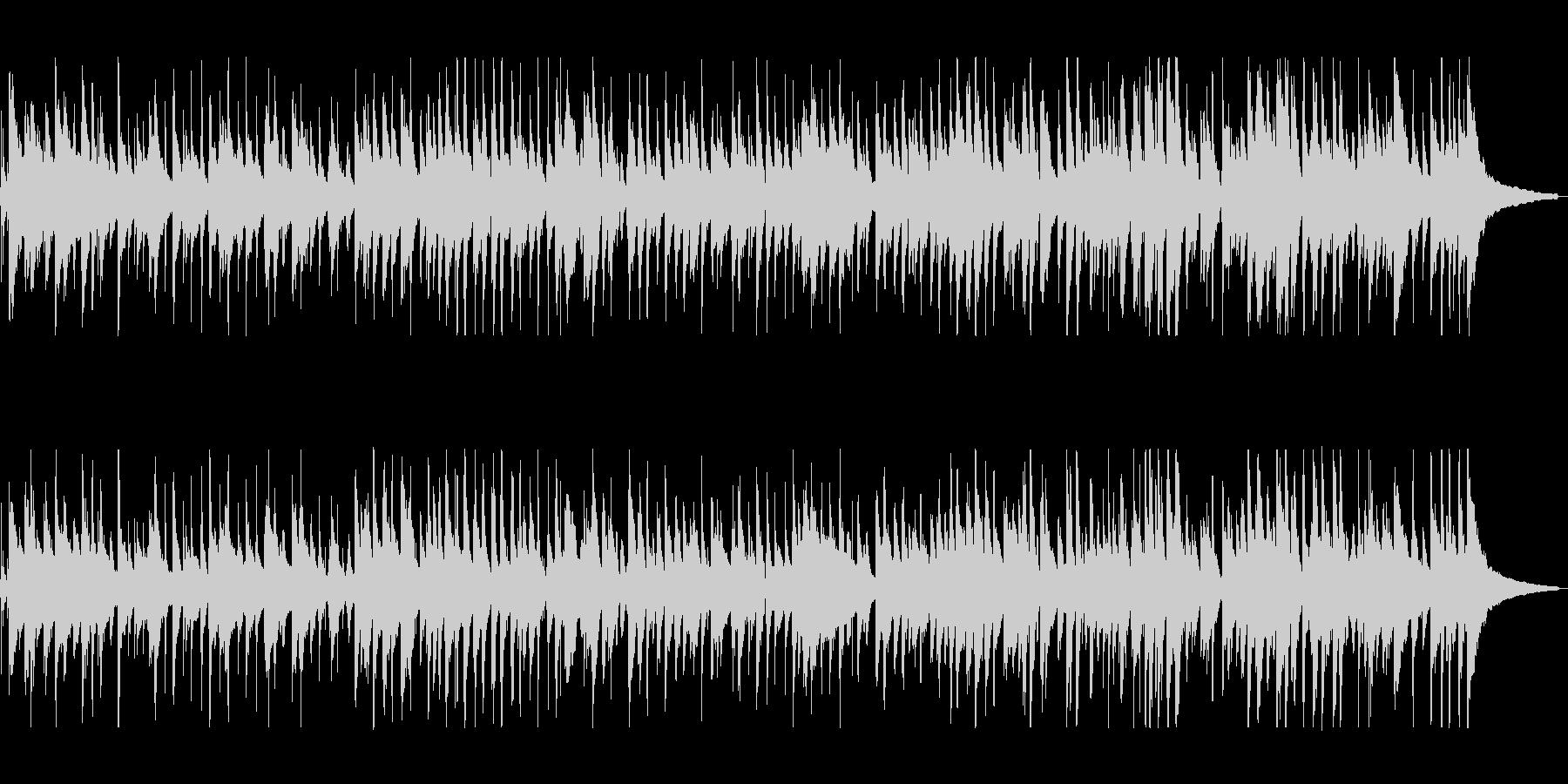 ピアノ演奏に魅了される大人のジャズの未再生の波形