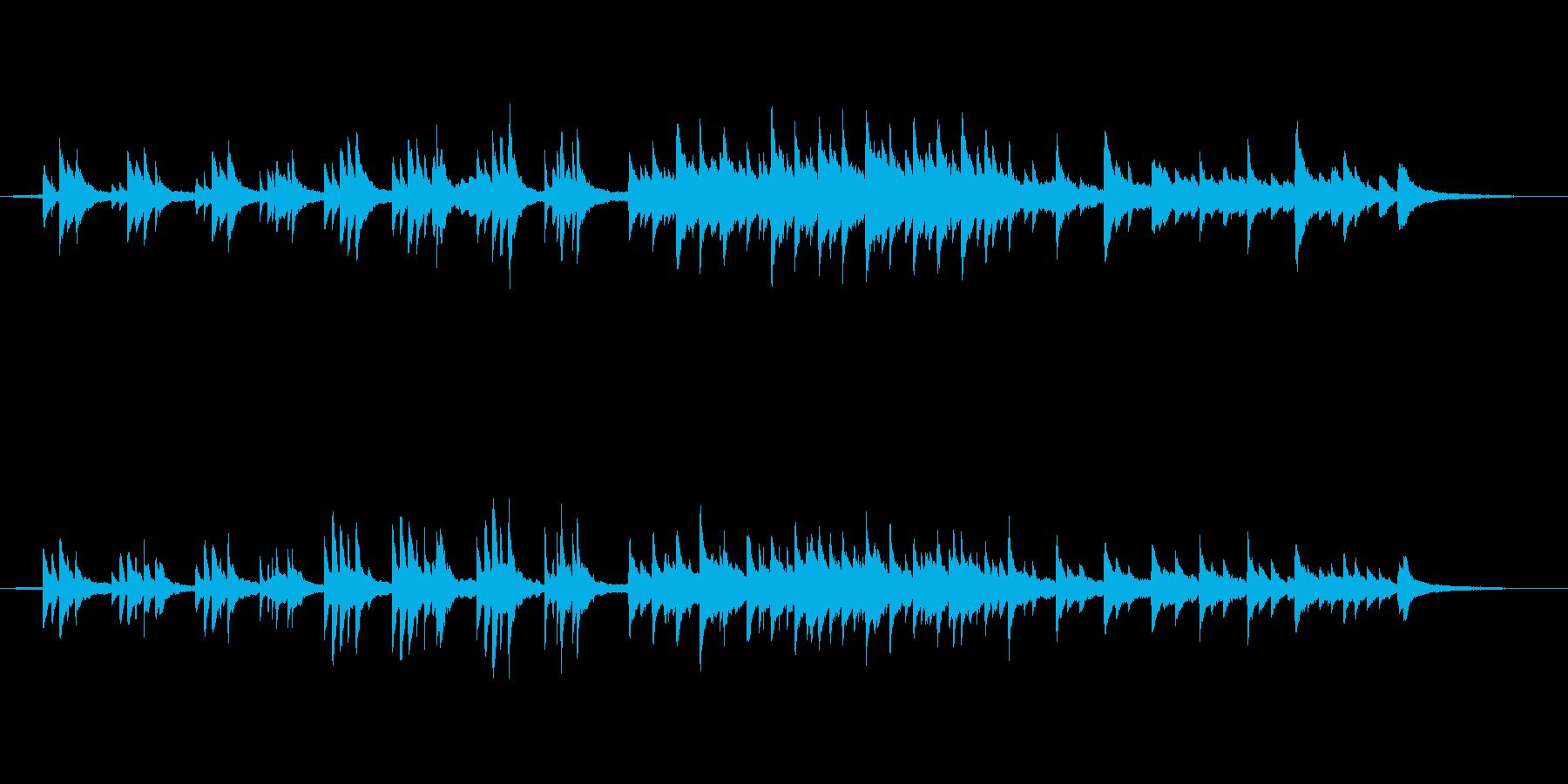 シリアス ミステリアス 幻想の再生済みの波形