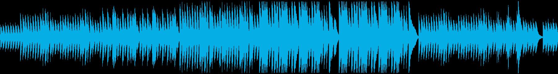 小さな小さなピアノ曲です。の再生済みの波形