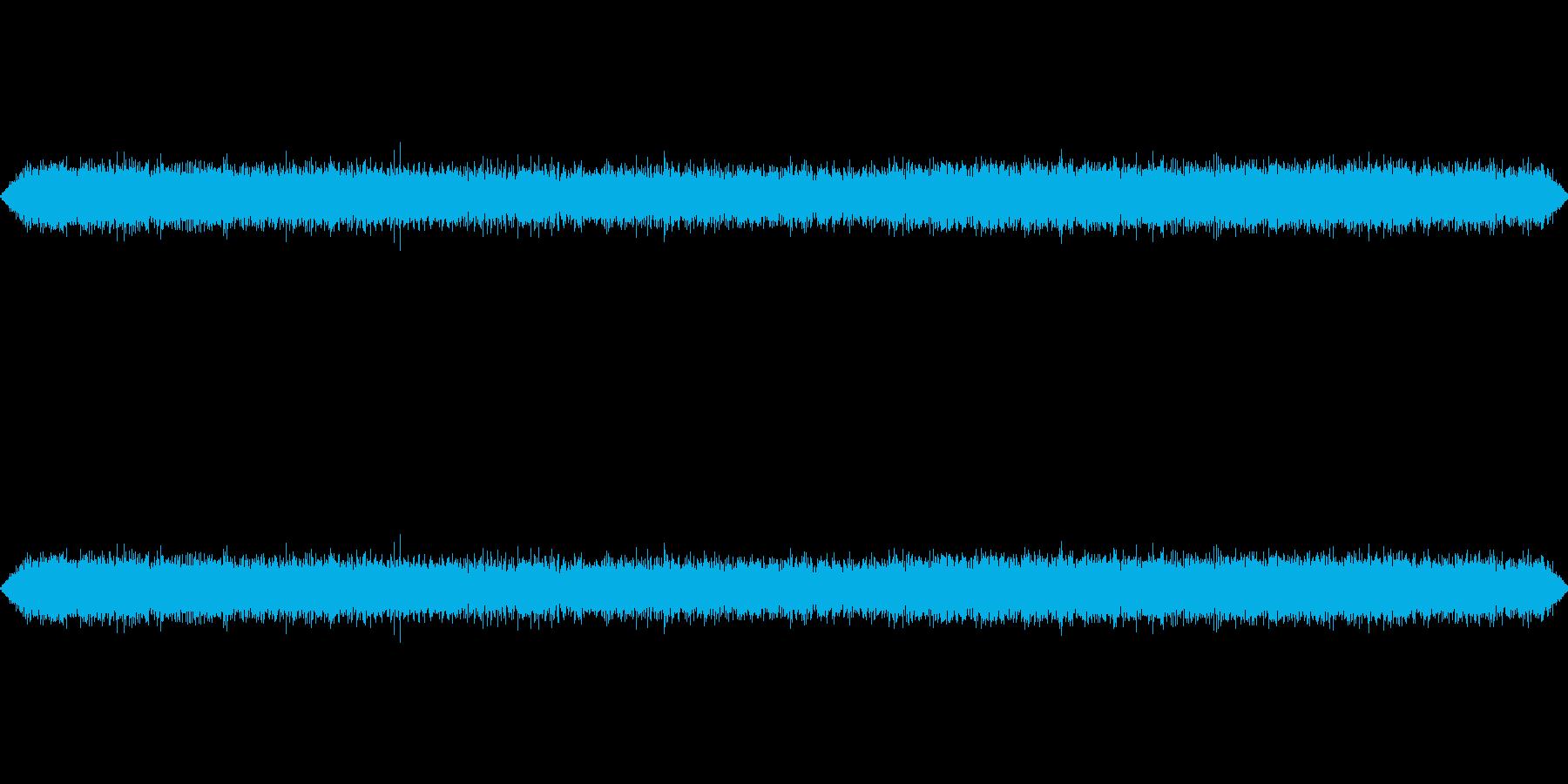 フライドポテトなどの揚げ物の音の再生済みの波形
