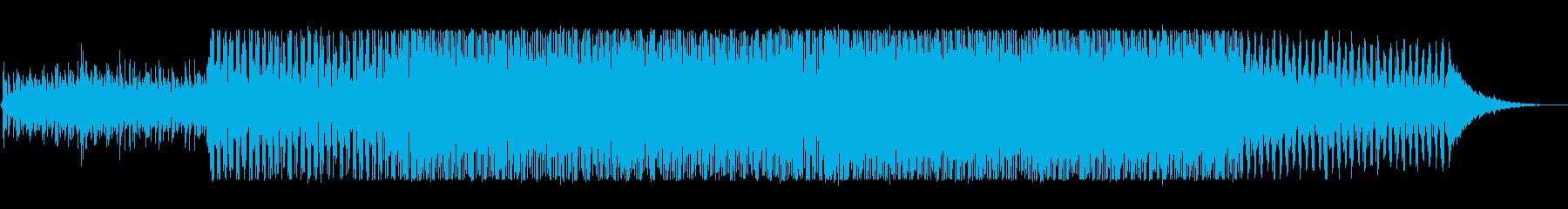 マイナーでリズミカルなユーロビートポップの再生済みの波形