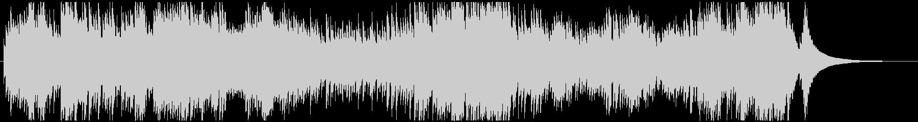 インベンション1番 オルゴールの未再生の波形