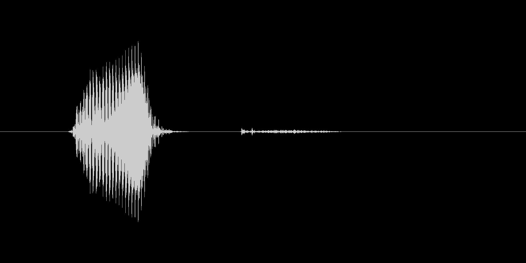 億(おく)の未再生の波形