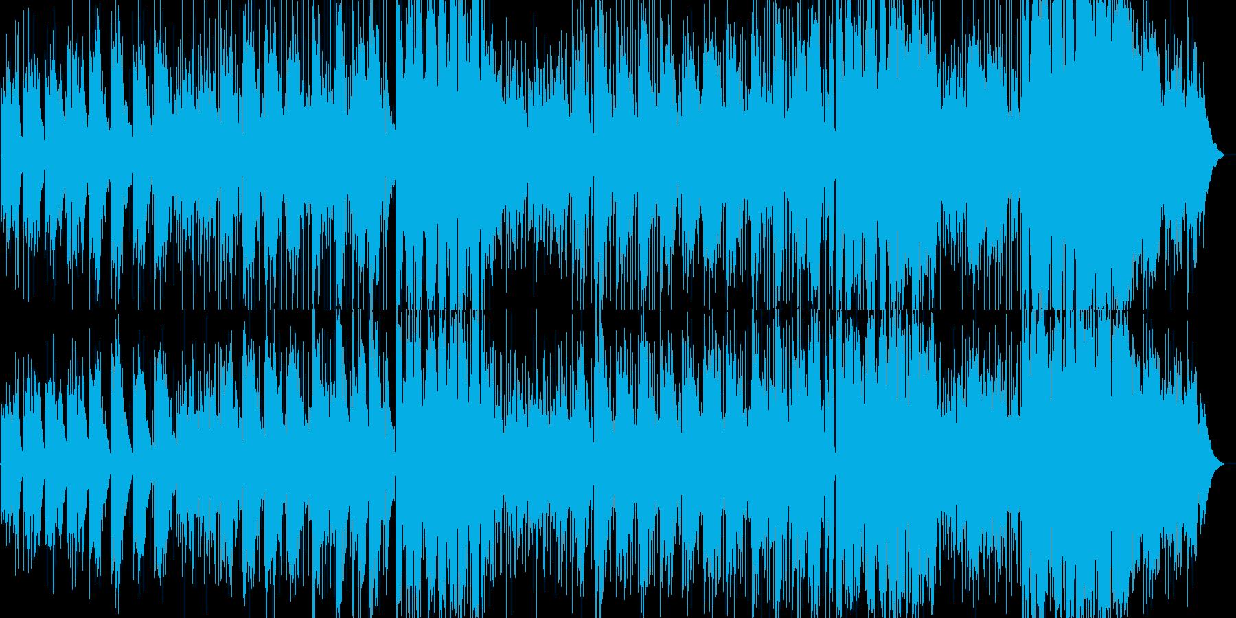 メランコリックなアコースティックバラードの再生済みの波形