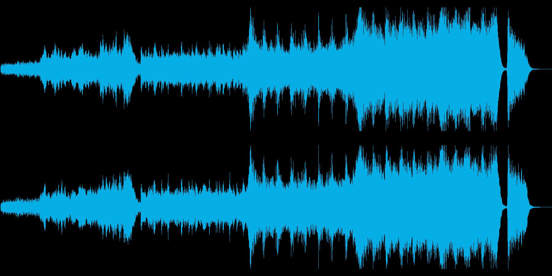 感動が最高潮に達するハイブリッドなオケ2の再生済みの波形