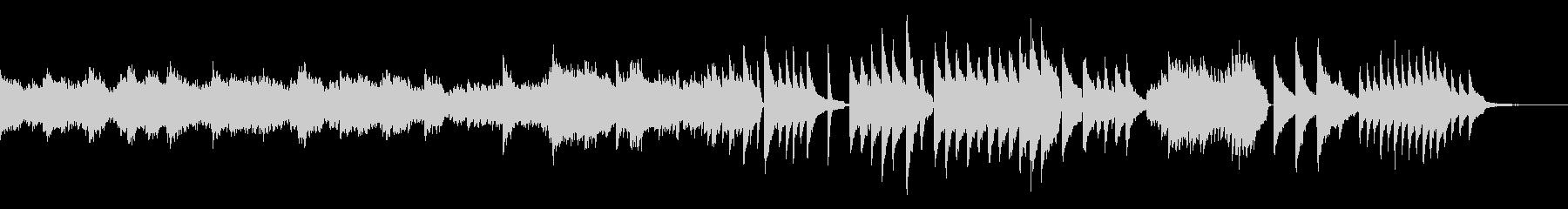 生ピアノ 幻想的 ドラマチック 映像 の未再生の波形