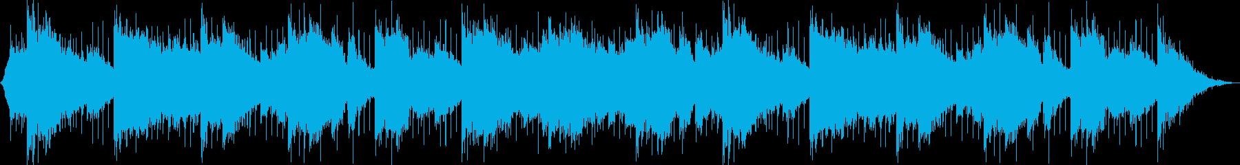 北欧の星空を包み込むような透き通る歌声の再生済みの波形