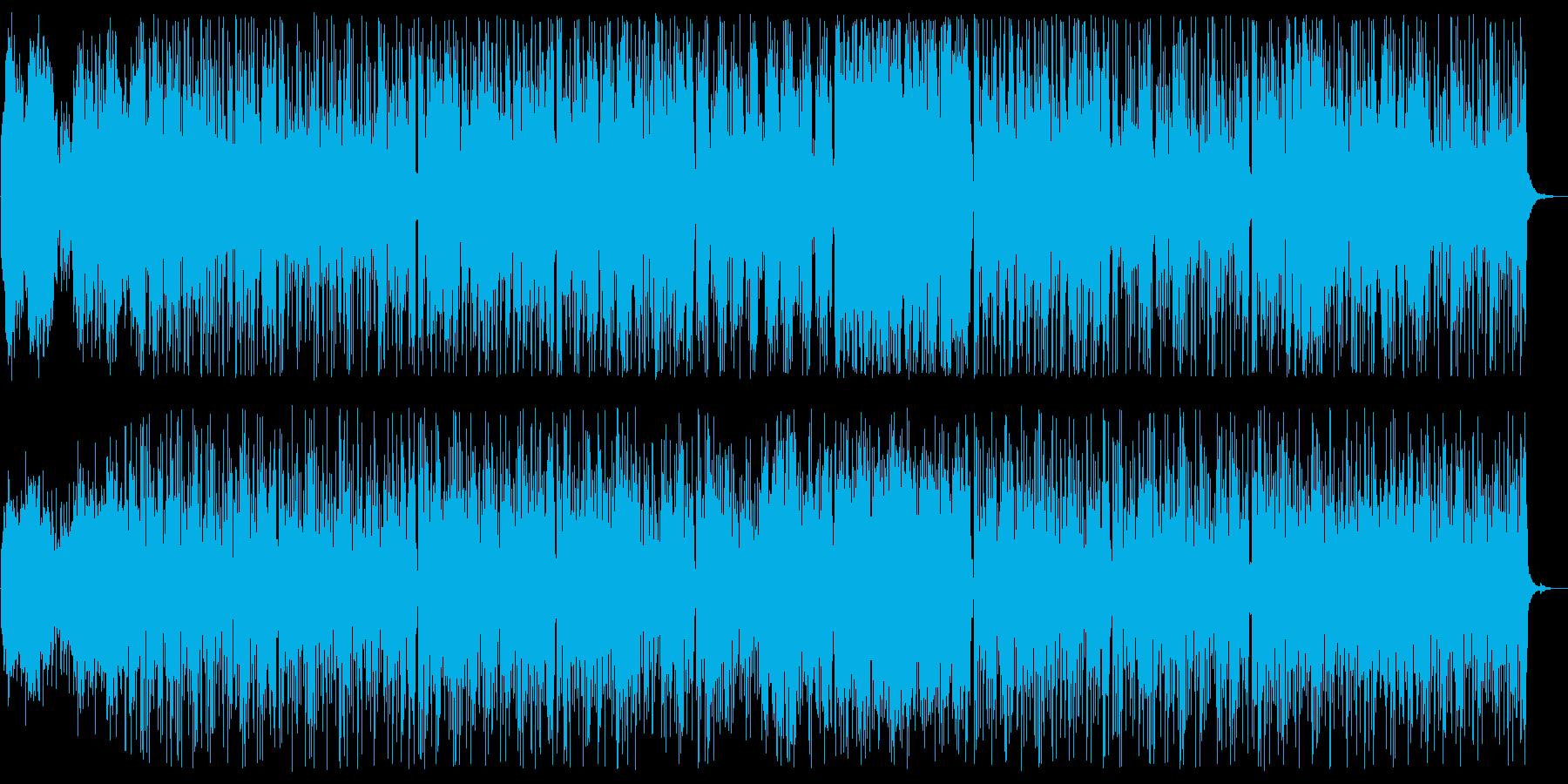 ムーディで華麗なリズミカルビートサウンドの再生済みの波形