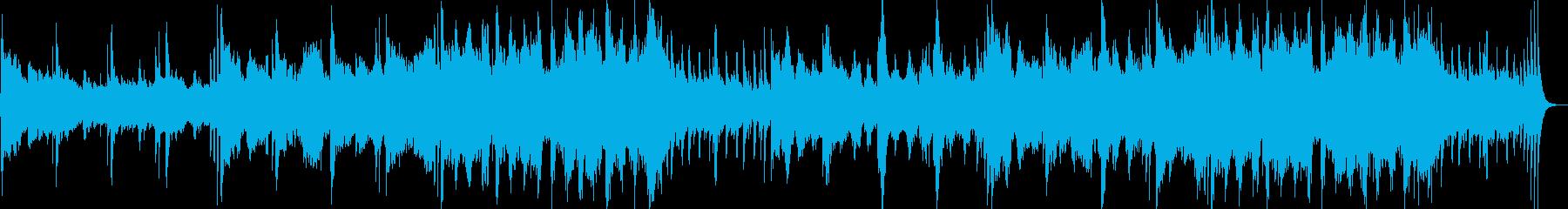 和風で神秘的な琴笛和太鼓のストリングス曲の再生済みの波形