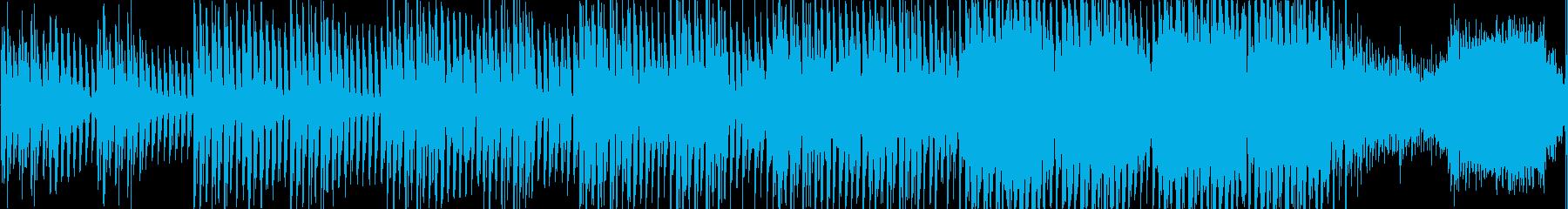 和風テクノループ音源の再生済みの波形