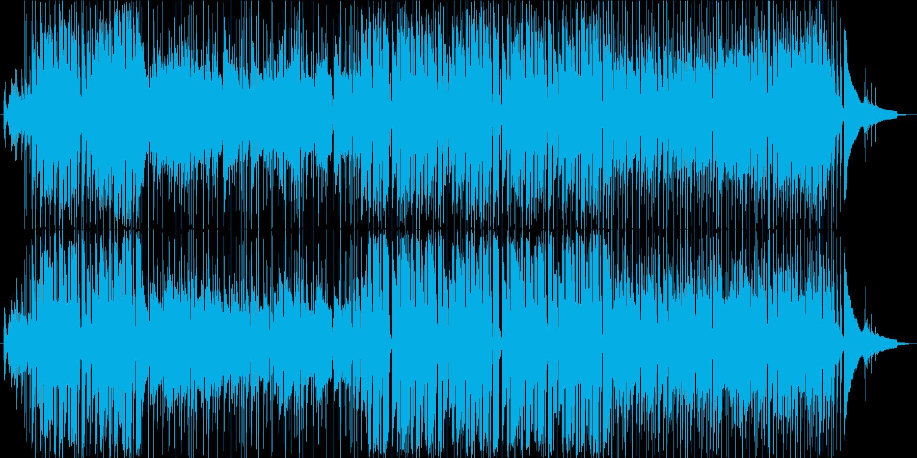 元気で爽やかな夏のポップ・ロック 伴奏版の再生済みの波形