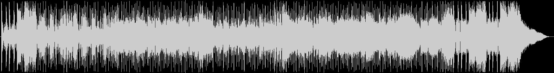 メロディアスでさわやかなシンセポップの未再生の波形