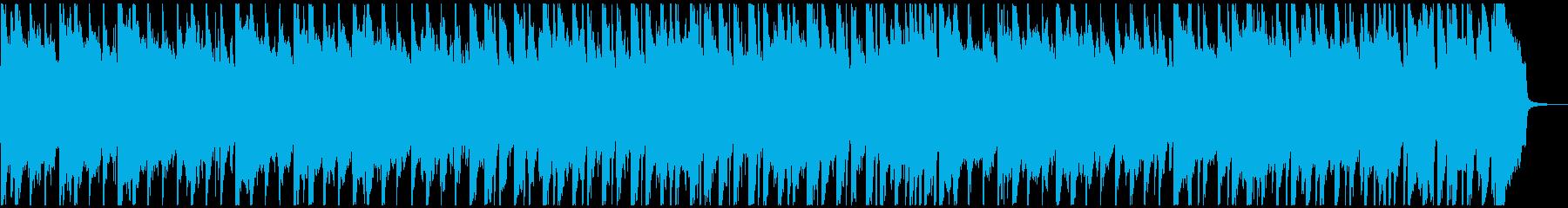 楽しい感じでノリ良い汎用性のあるBGMの再生済みの波形