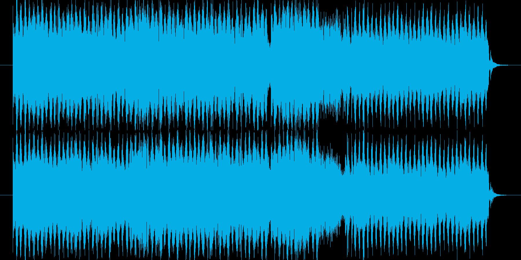 ポップでキャッチーな元気溢れる曲です。…の再生済みの波形