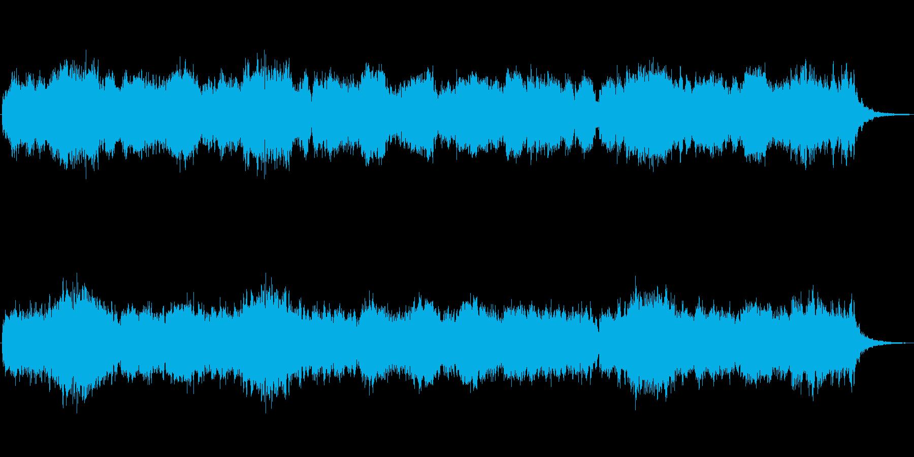 シンセによる明るいファンタジーの世界2の再生済みの波形