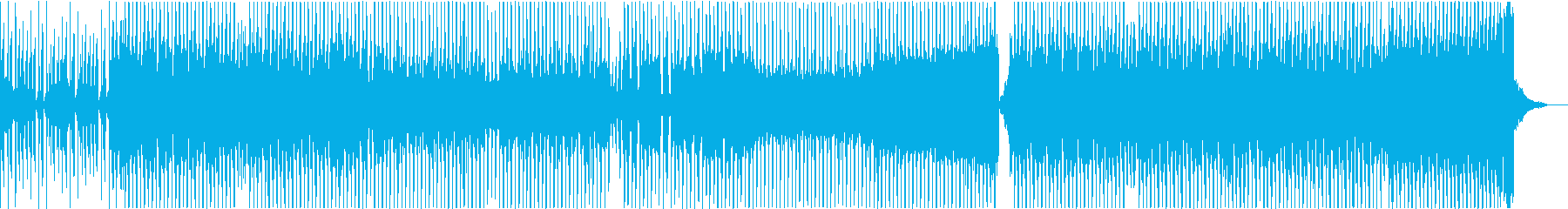 EDM バラエティ 情熱 パッションの再生済みの波形