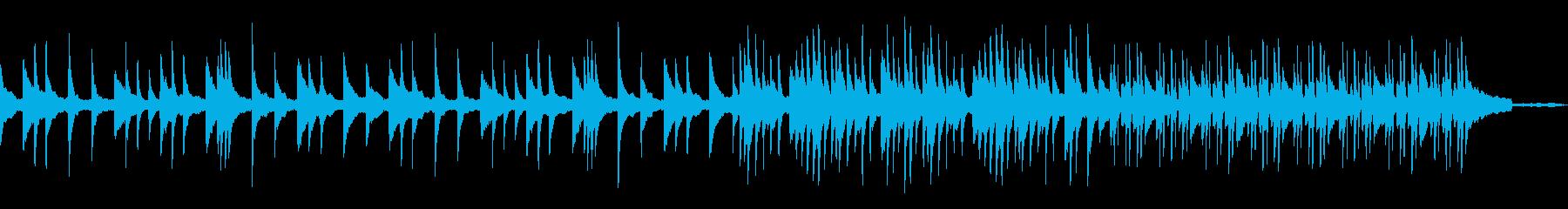 【ピアノソロ】穏やか優しい雰囲気ピアノ曲の再生済みの波形