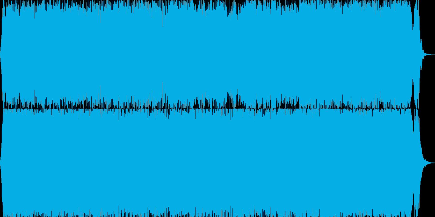 壮大系オーケストラ戦闘曲30の再生済みの波形