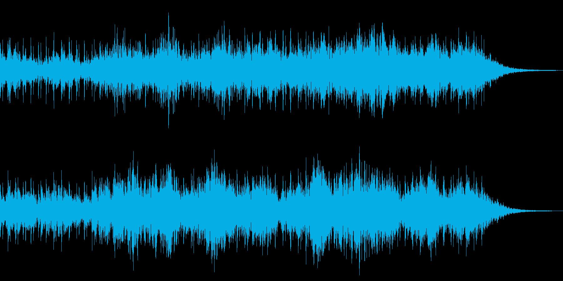 絶望感 心臓音 アンビエントの再生済みの波形