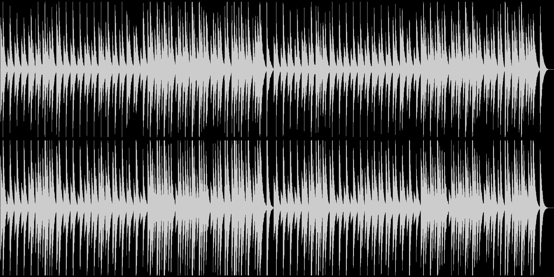 ★サティ★ジムノペディ第1番★ピアノ★Bの未再生の波形