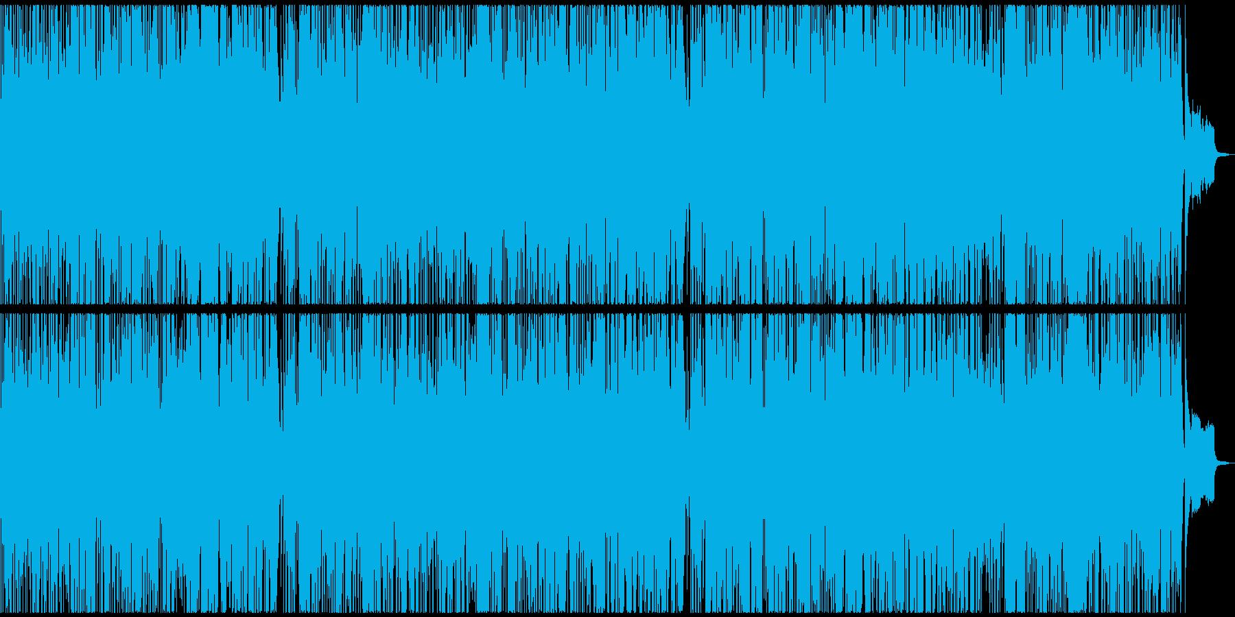 オーボエ主体のポップスの再生済みの波形