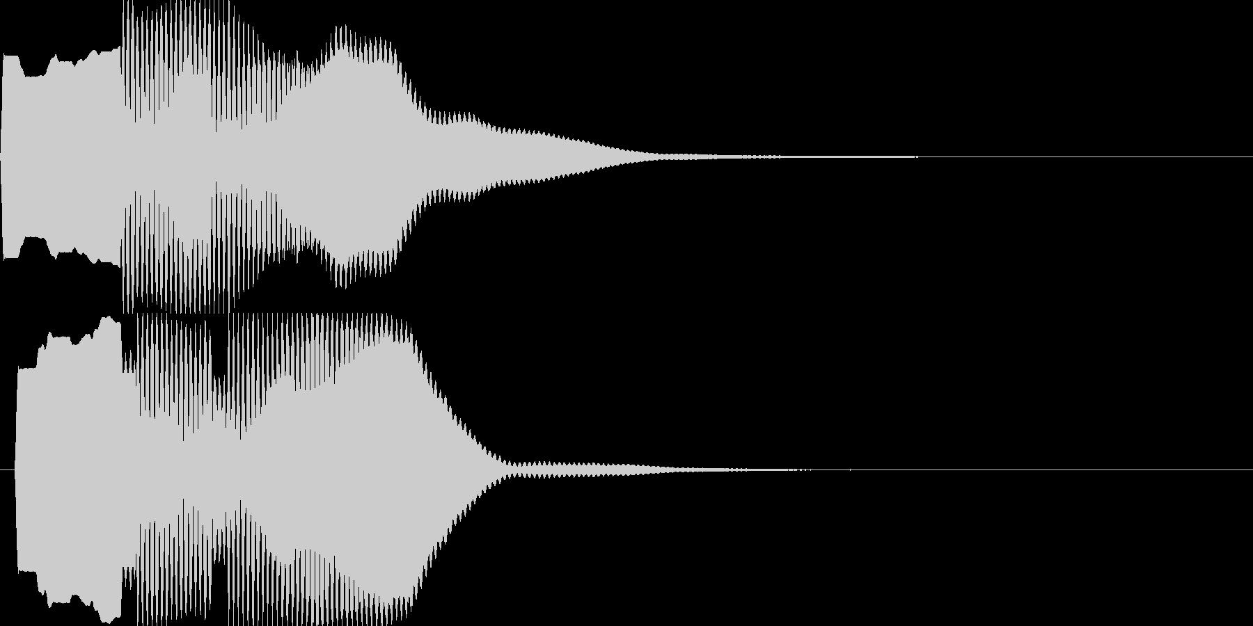 汎用キャンセルボタン - 4の未再生の波形