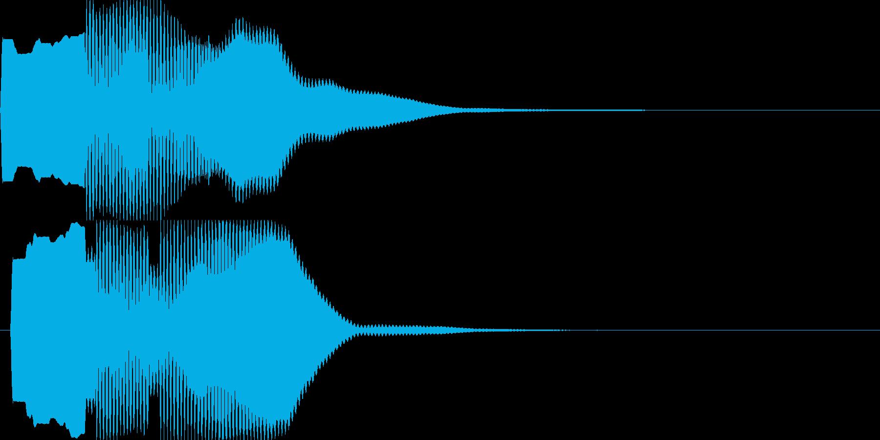 汎用キャンセルボタン - 4の再生済みの波形