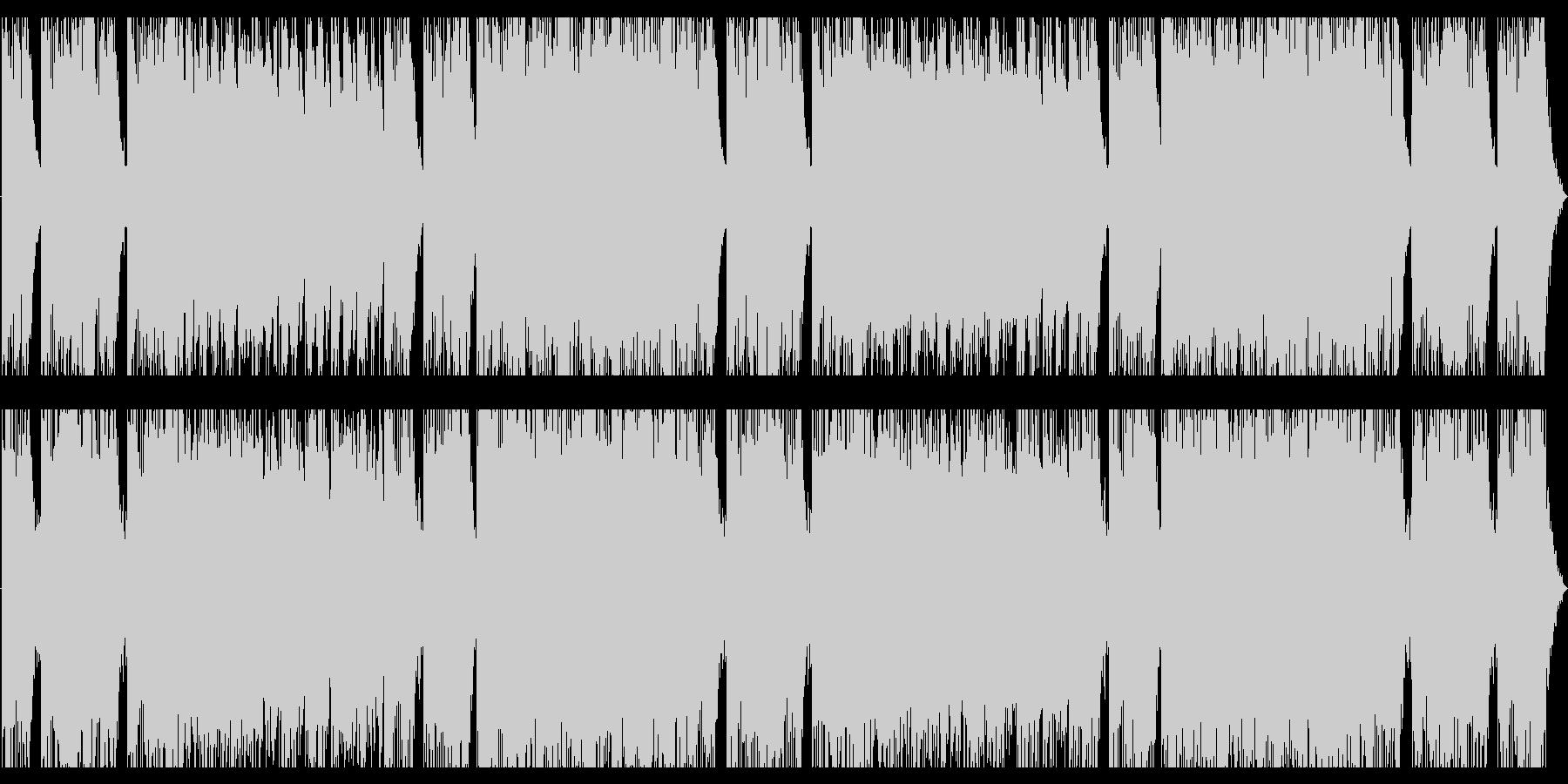 壮大なオーケストラロックの未再生の波形