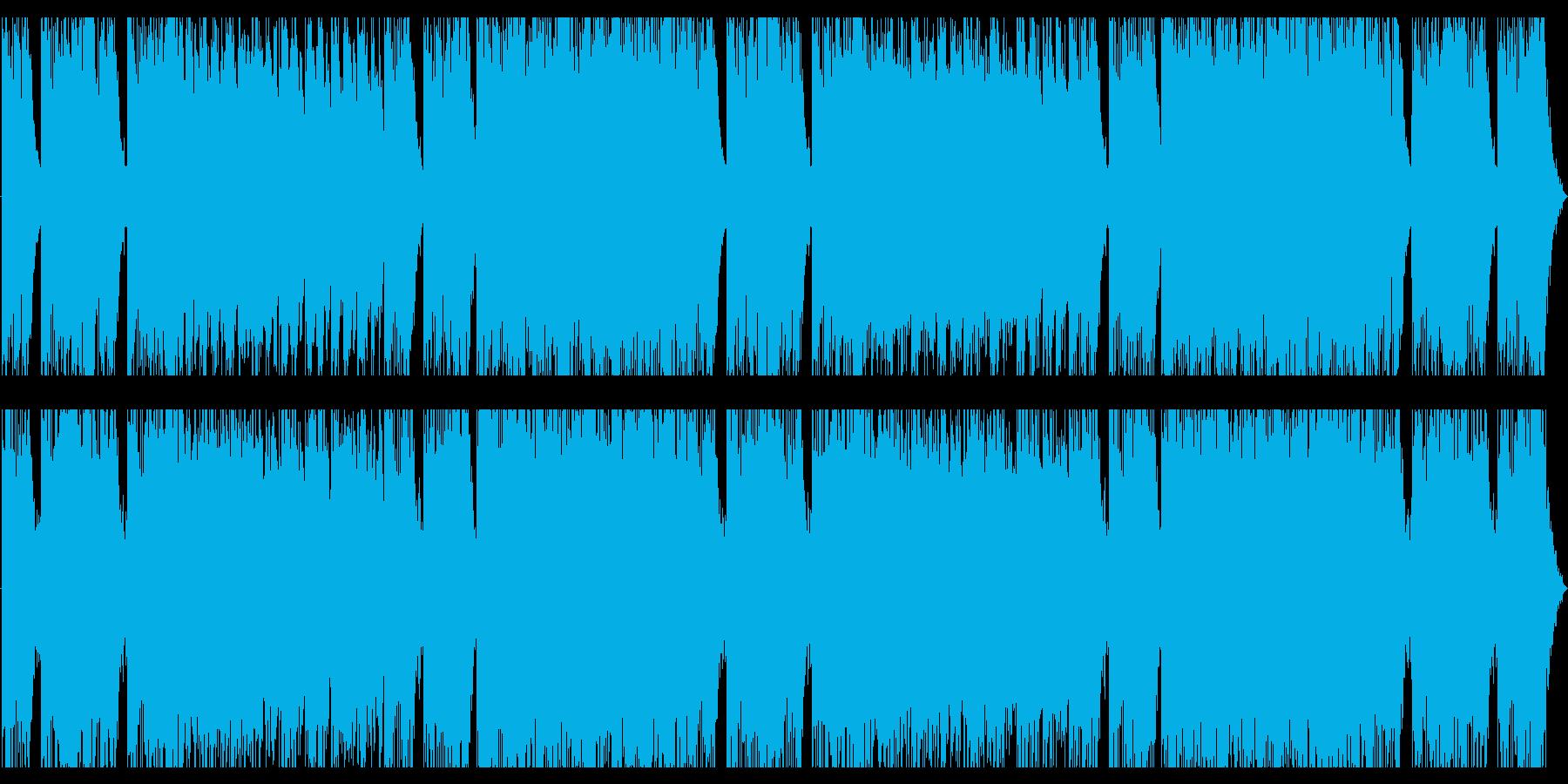 壮大なオーケストラロックの再生済みの波形