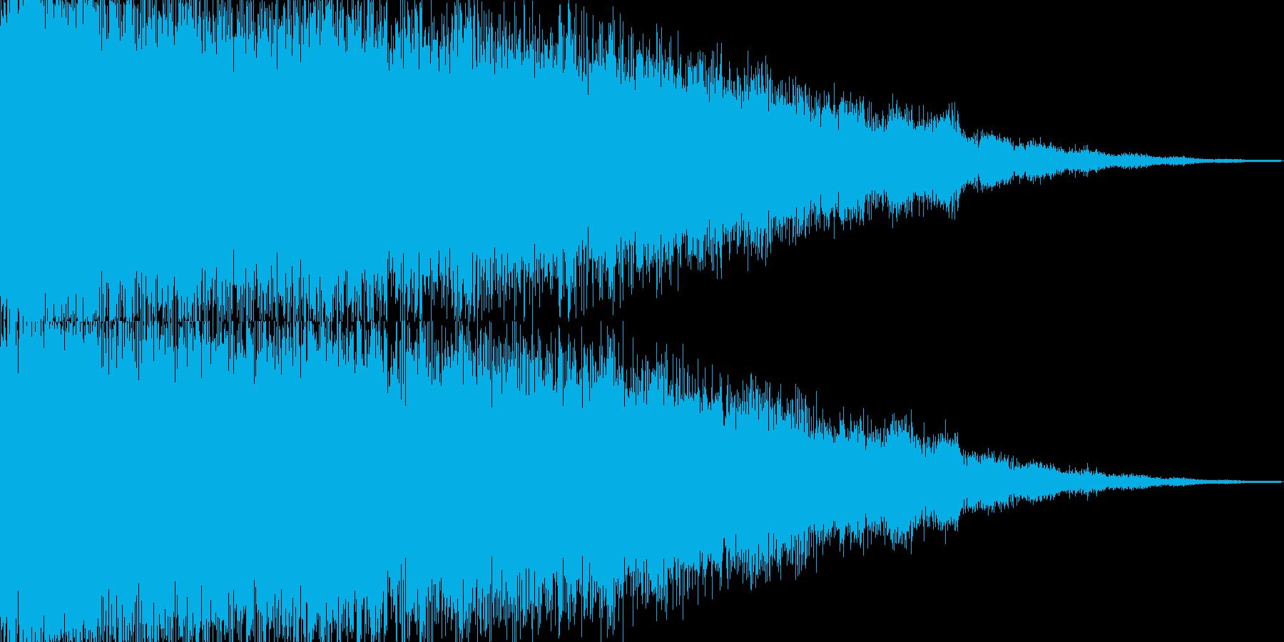 【パキーン】パチンコなどの演出にの再生済みの波形