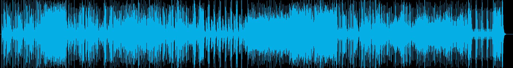 躍動感のあるトランペット中心のジャズの再生済みの波形