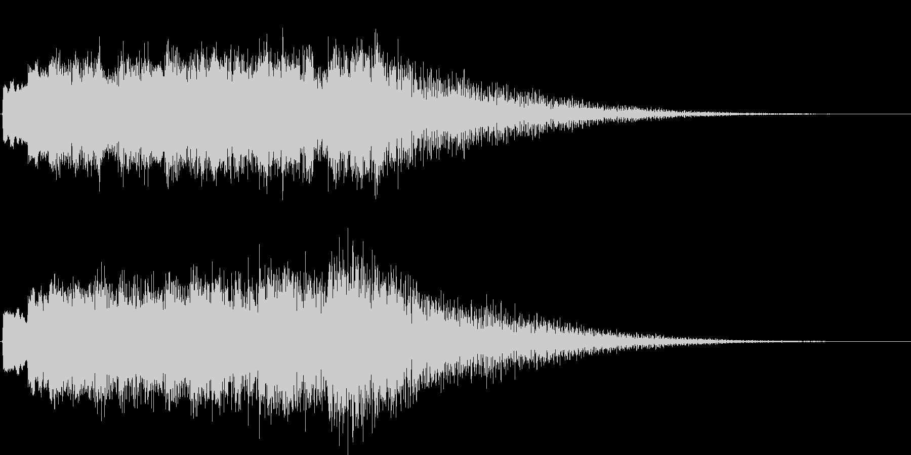 ファンタジー系の効果音です。の未再生の波形