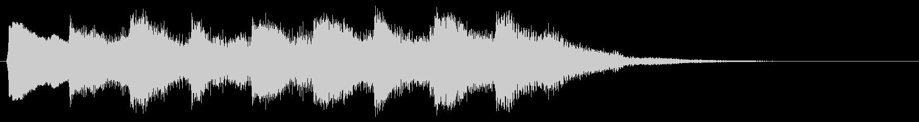 8bit ゲームクリア 完了 達成音の未再生の波形