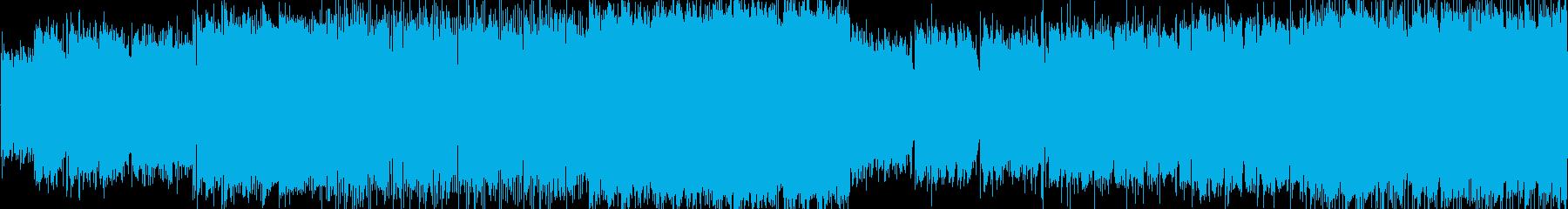 情熱的なバラードの再生済みの波形