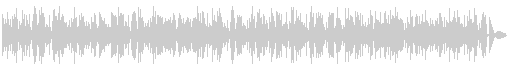 穏やか軽快な4ビート ピアノ・トリオの未再生の波形