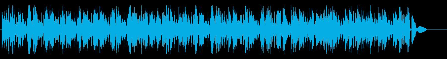 穏やか軽快な4ビート ピアノ・トリオの再生済みの波形