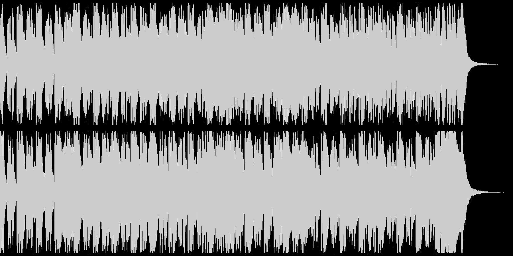 行進曲風オーケストラ 約55秒 メロ抜きの未再生の波形