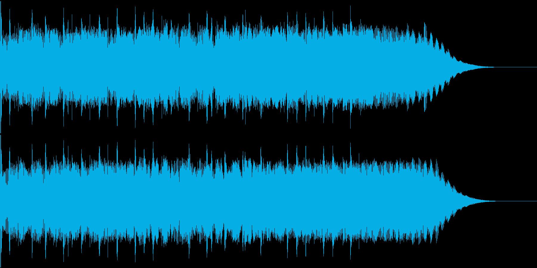 ジングル 切ないロックギターの再生済みの波形