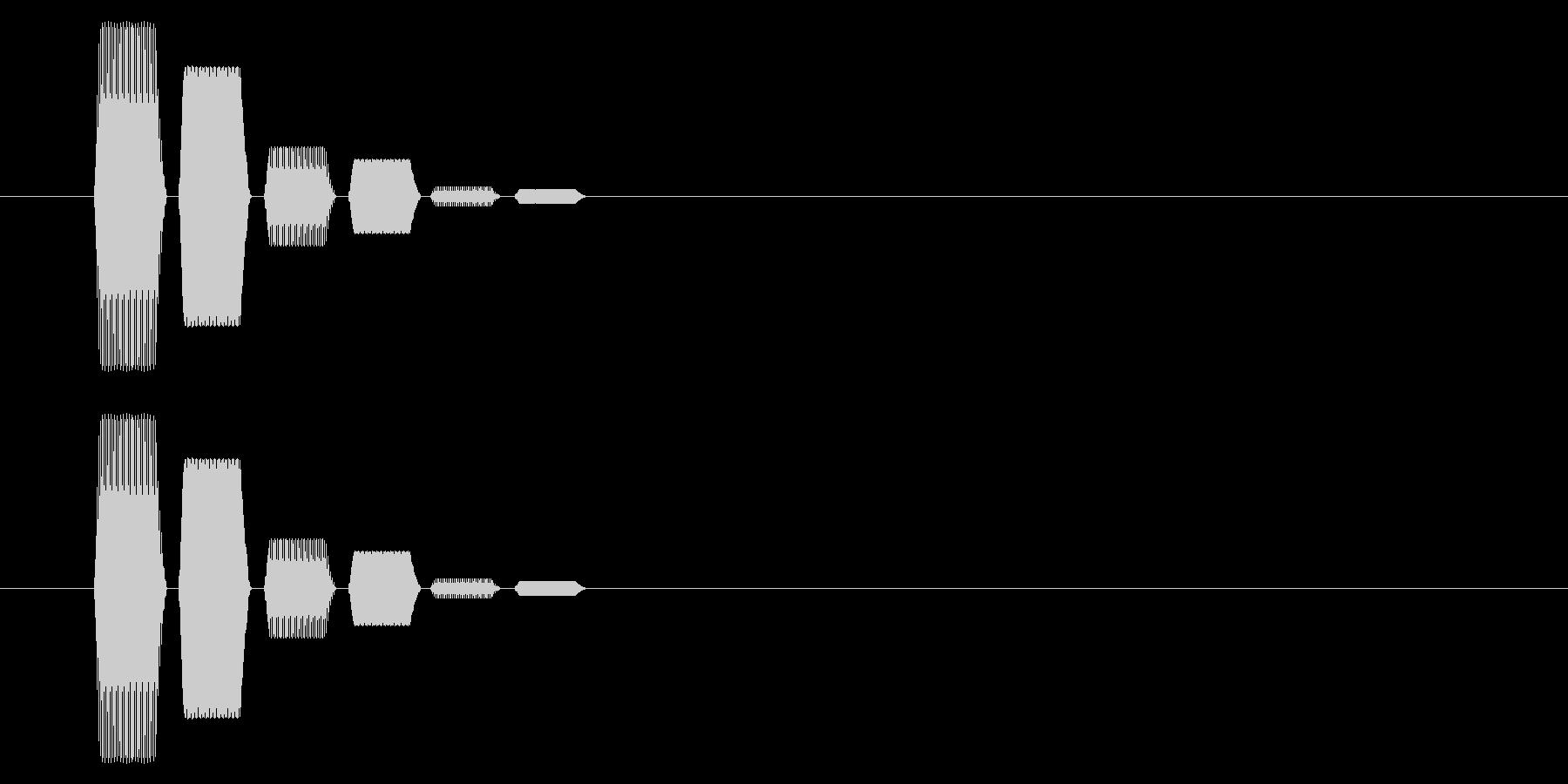 SNES 格闘02-15(選択)の未再生の波形