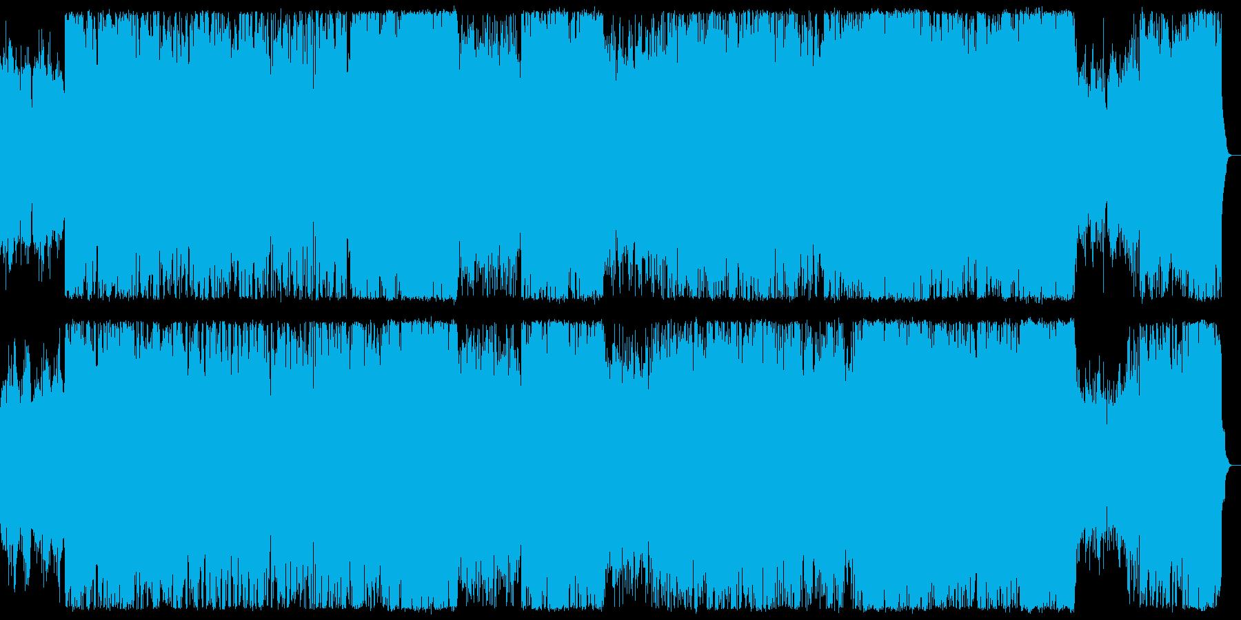 ポップにミステリアス 愉快なハロウィン曲の再生済みの波形