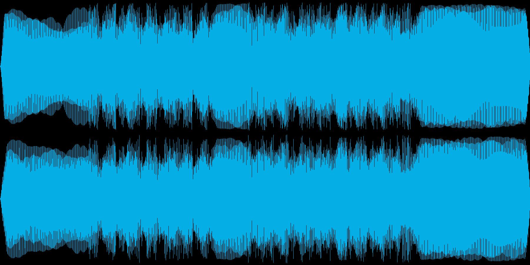 ひげ剃り機、電気シェーバー(剃る音あり)の再生済みの波形
