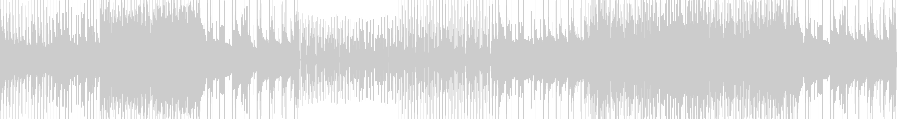 スラップベースでノリのいいループBGMの未再生の波形