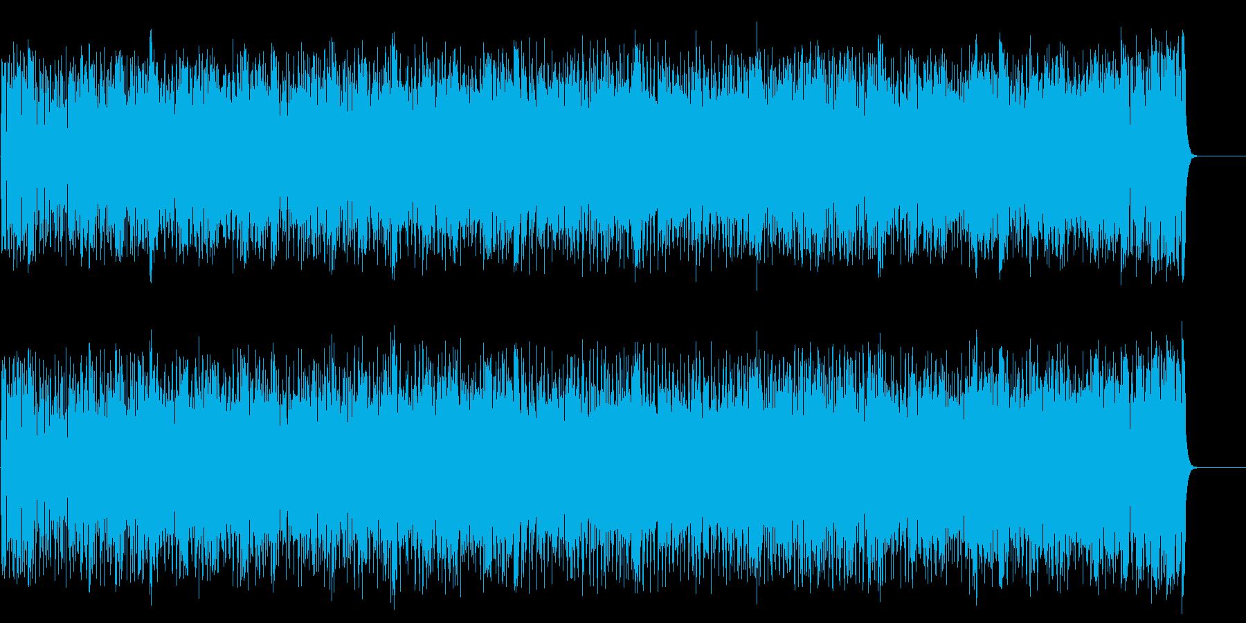 建設的で躍動的なエレクトリックロックの再生済みの波形